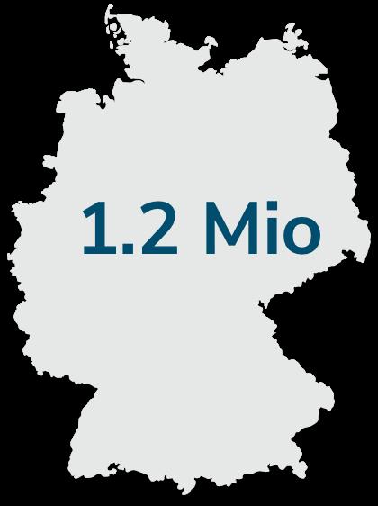 Persoperm Deutschland Karte