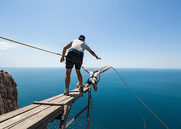 Blog Stolperfallen Bungee-Jumping
