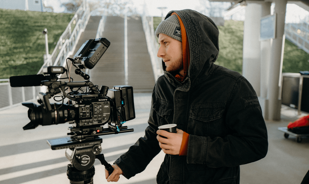 Remote-Work Einsteiger Julius Kamera