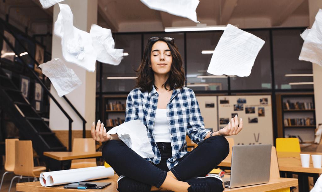 Remote-Work Einsteiger Chaos Meditation