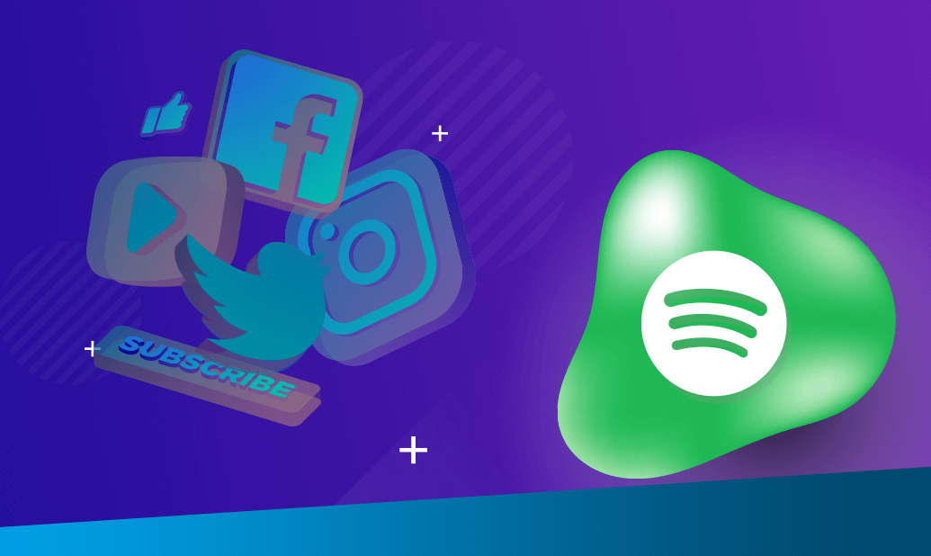 Social Media Blog Spotify Header