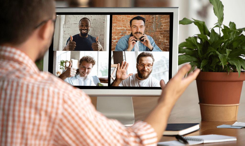 2020-12-01 Remote-Work Erfahrungsbericht - Meeting Home-Office