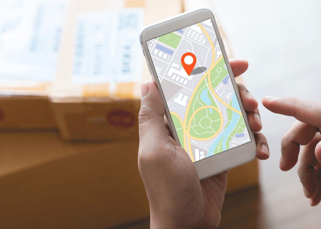 Social Media Blog Jodel - GPS